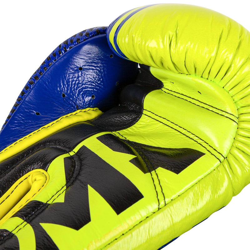 Venum Shield Pro Boxing Gloves Loma Edition - Velcro – Blue/Yellow picture 4
