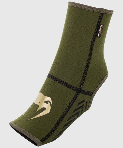 Venum Kontact Evo Foot Grips - Khaki/Gold picture 1