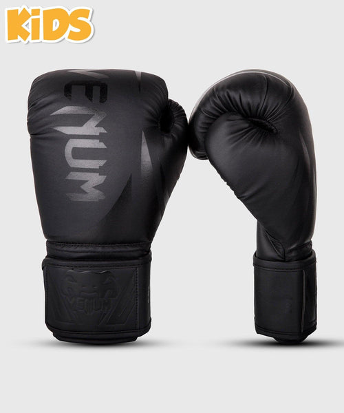 Venum Challenger 2.0 Kids Boxing Gloves - Black/Black picture 1