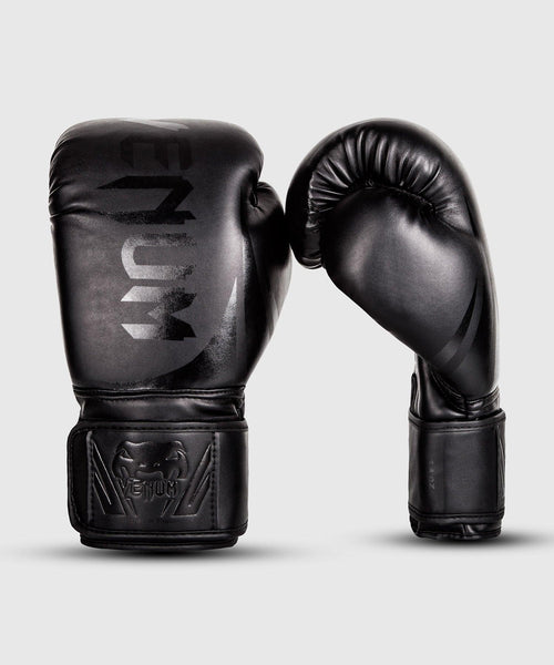 Venum Challenger 2.0 Boxing Gloves – Black/Black Picture 1
