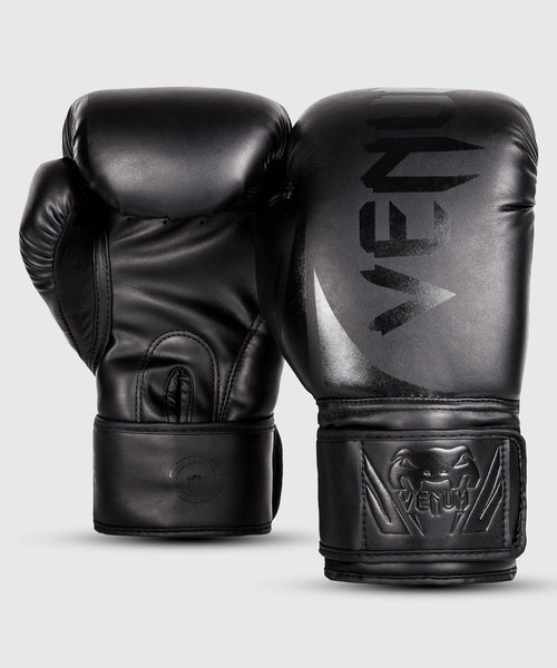 Venum Challenger 2.0 Boxing Gloves – Black/Black Picture 2