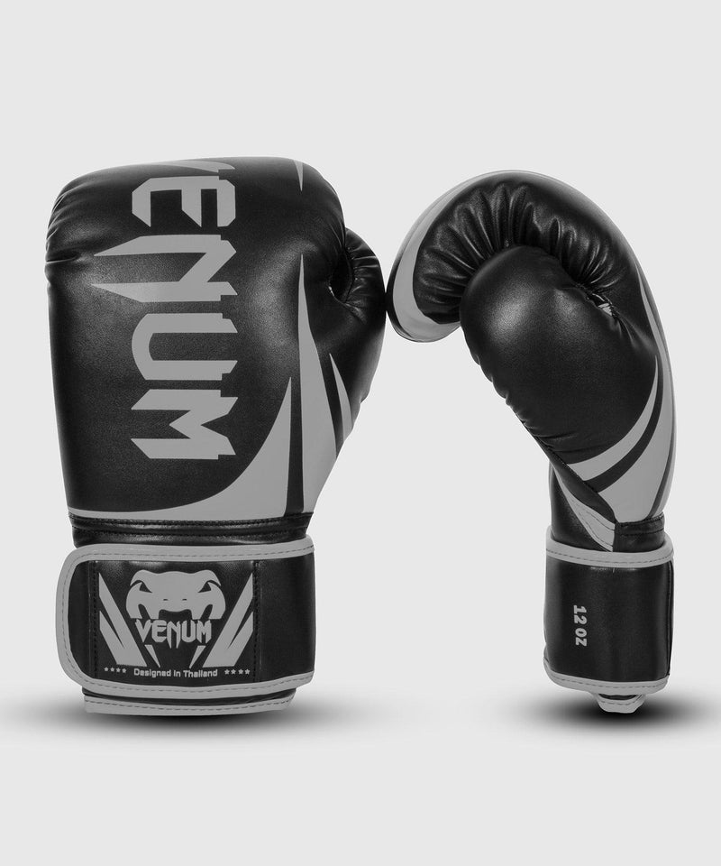 Venum Challenger 2.0 Boxing Gloves – Black/Grey picture 1