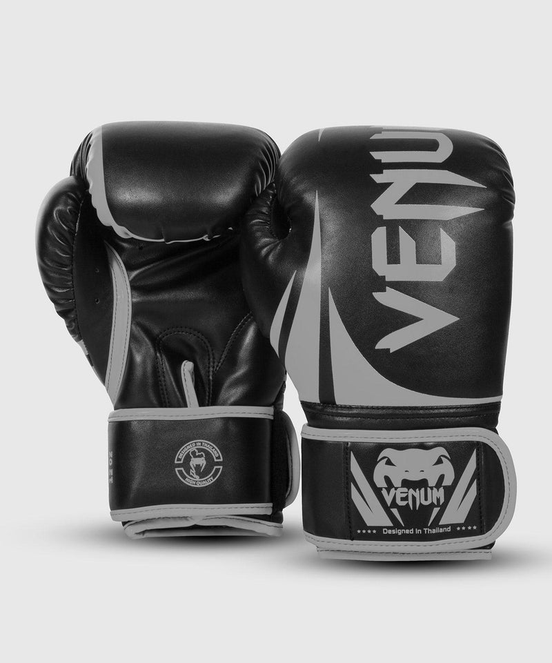 Venum Challenger 2.0 Boxing Gloves – Black/Grey picture 2