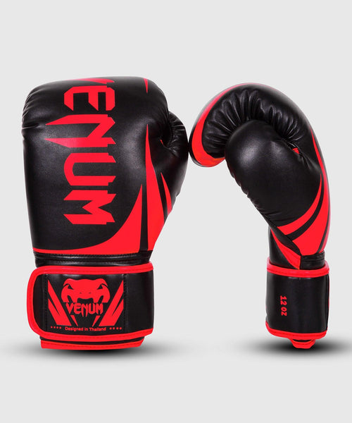 Venum Challenger 2.0 Boxing Gloves - Black/Red – Exclusive picture 1