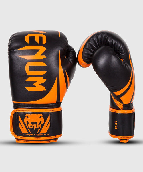 Venum Challenger 2.0 Boxing Gloves - Neo Orange/Black picture 1