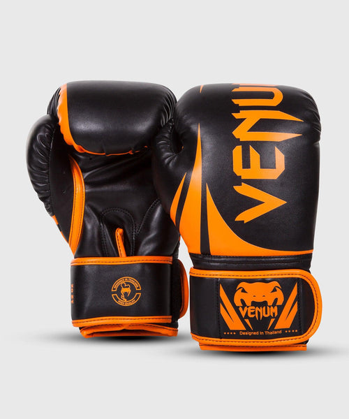 Venum Challenger 2.0 Boxing Gloves - Neo Orange/Black picture 2