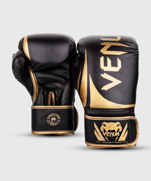 Venum Challenger 2.0 Boxing Gloves – Black/Gold picture 2