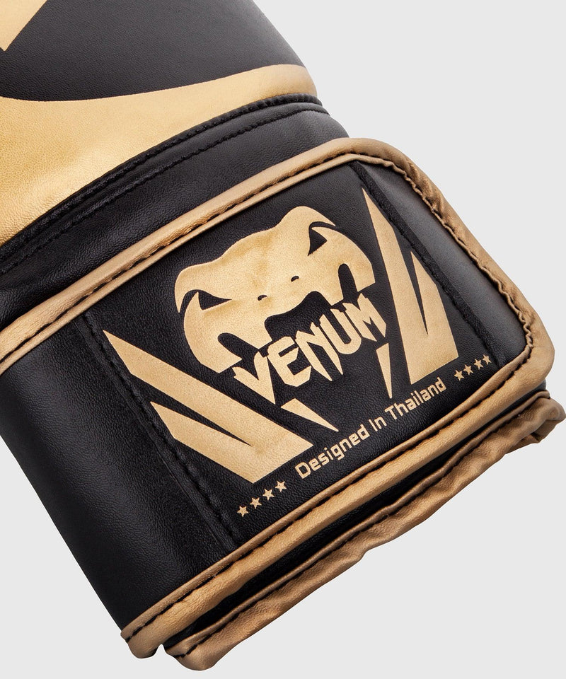 Venum Challenger 2.0 Boxing Gloves – Black/Gold picture 4