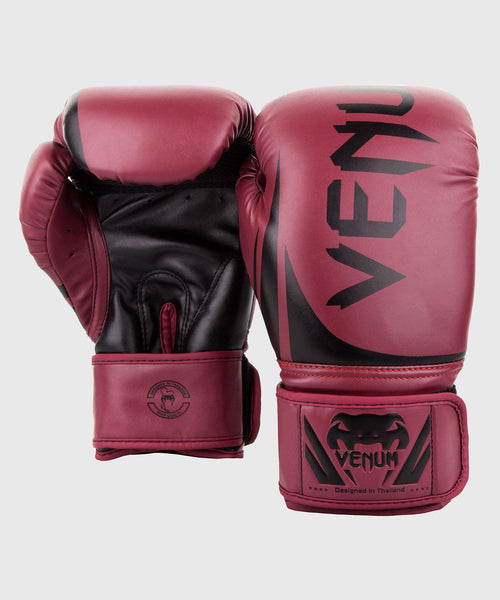 Venum Challenger 2.0 Boxing Gloves - Burgundy/Black picture 2