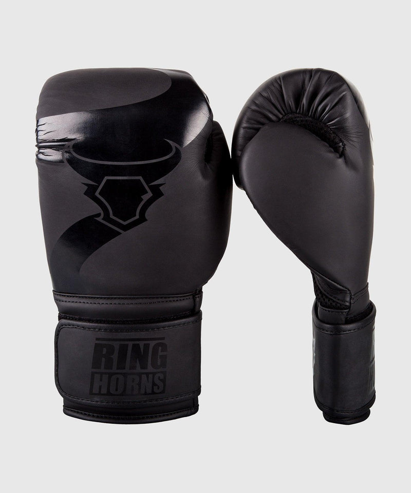 Ringhorns Charger Boxing Gloves - Black/Black picture 1
