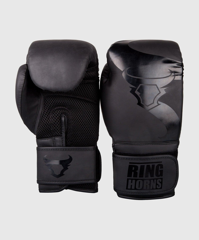 Ringhorns Charger Boxing Gloves - Black/Black picture 2