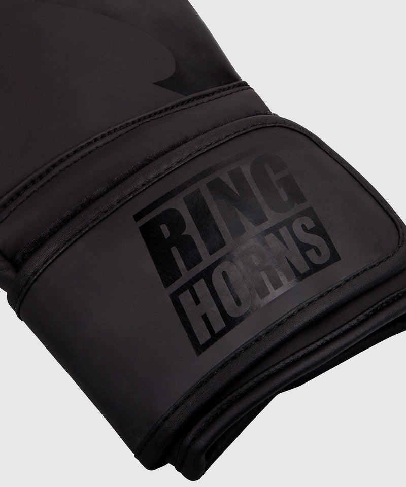 Ringhorns Charger Boxing Gloves - Black/Black picture 3