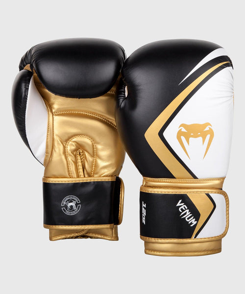 Venum Boxing Gloves Contender 2.0 - Black/White-Gold picture 2