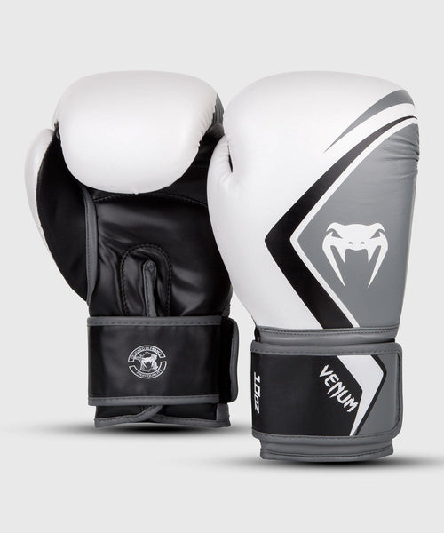 Venum Boxing Gloves Contender 2.0 – White/Grey-Black picture 2