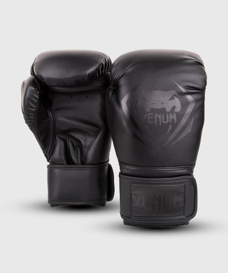 Venum Contender Boxing Gloves – Black/Black picture 2