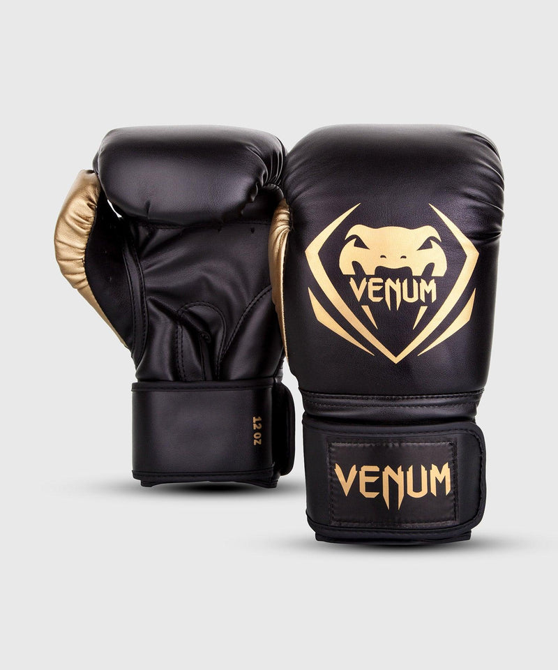 Venum Contender Boxing Gloves – Black/Gold picture 2