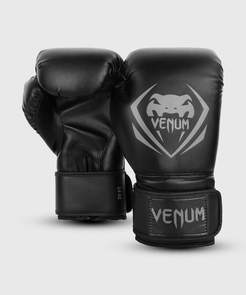 Venum Contender Boxing Gloves – Black/Grey picture 2