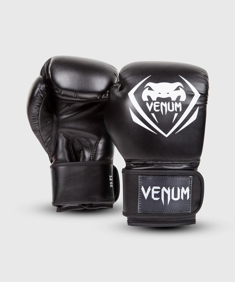 Venum Contender Boxing Gloves – Black picture 2
