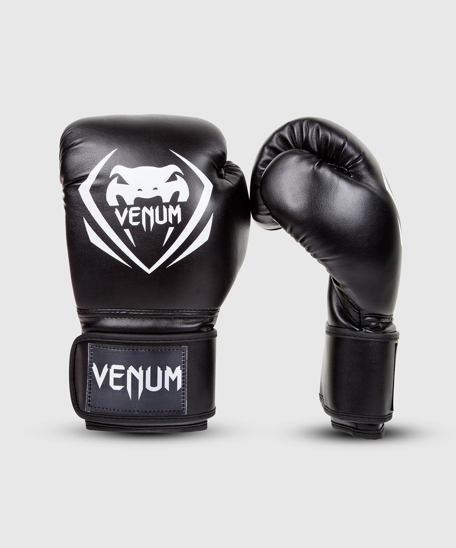Venum Contender Boxing Gloves – Black picture 1