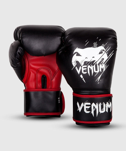 Venum Contender Kids Boxing Gloves - Black/Red picture 2