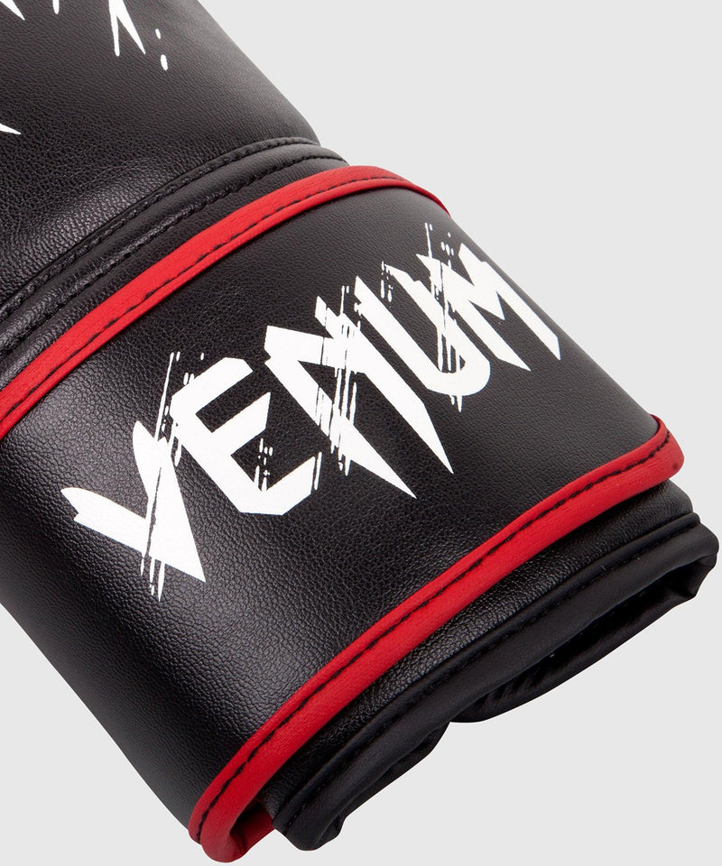 Venum Contender Kids Boxing Gloves - Black/Red picture 4