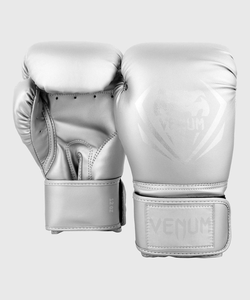 Venum Contender Boxing Gloves - Silver/Silver picture 4