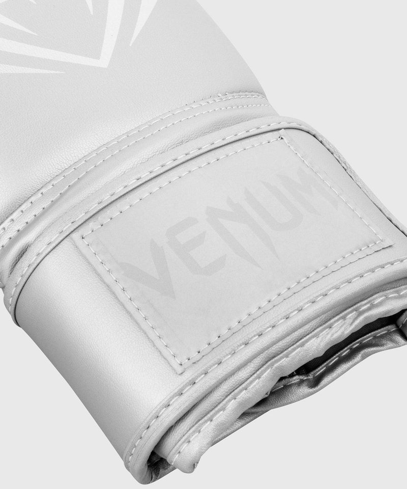 Venum Contender Boxing Gloves - Silver/Silver picture 3
