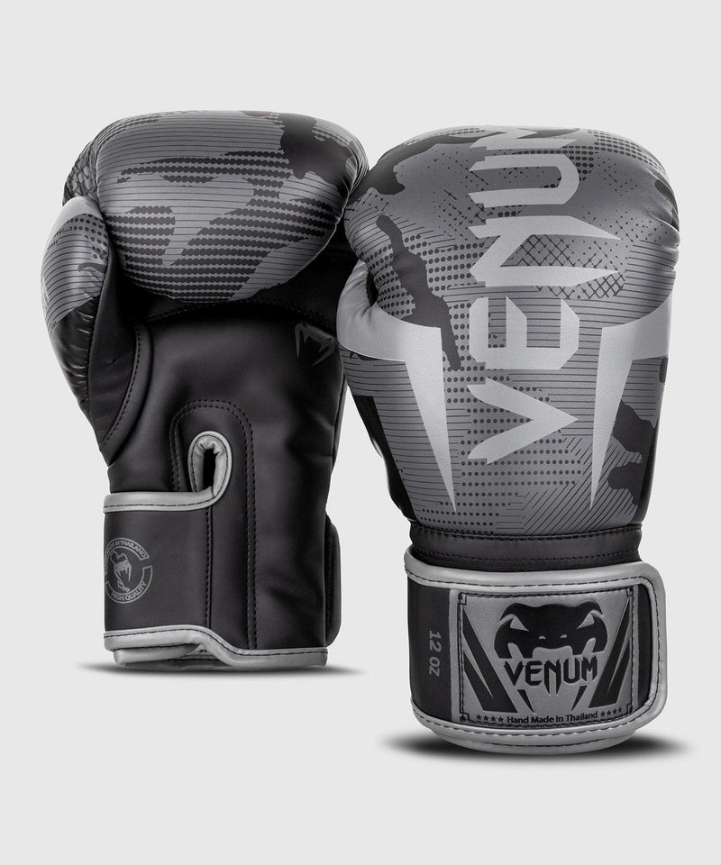 Venum Elite Boxing Gloves - Black/Dark camo picture 3