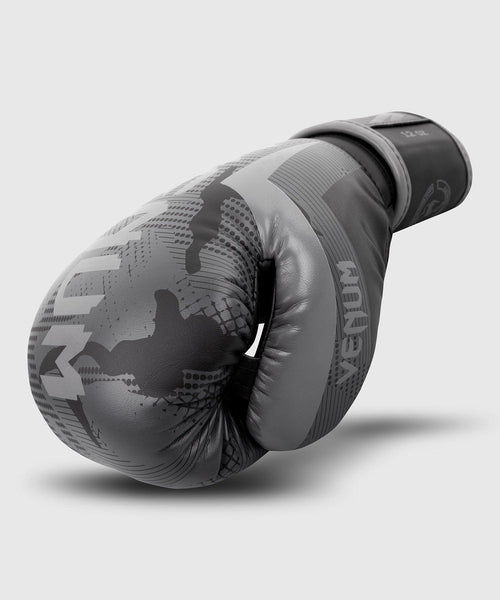 Venum Elite Boxing Gloves - Black/Dark camo picture 2