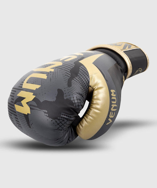 Venum Elite Boxing Gloves - Dark camo/Gold picture 2