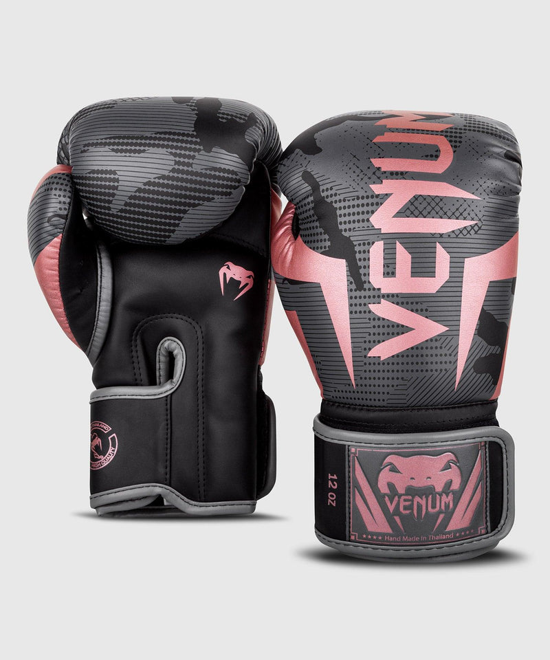 Venum Elite Boxing Gloves - Black/Pink Gold picture 4