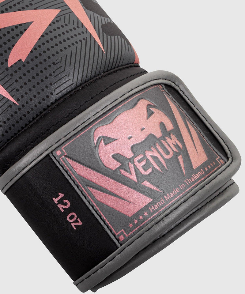Venum Elite Boxing Gloves - Black/Pink Gold picture 6