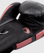 Venum Elite Boxing Gloves - Black/Pink Gold picture 7