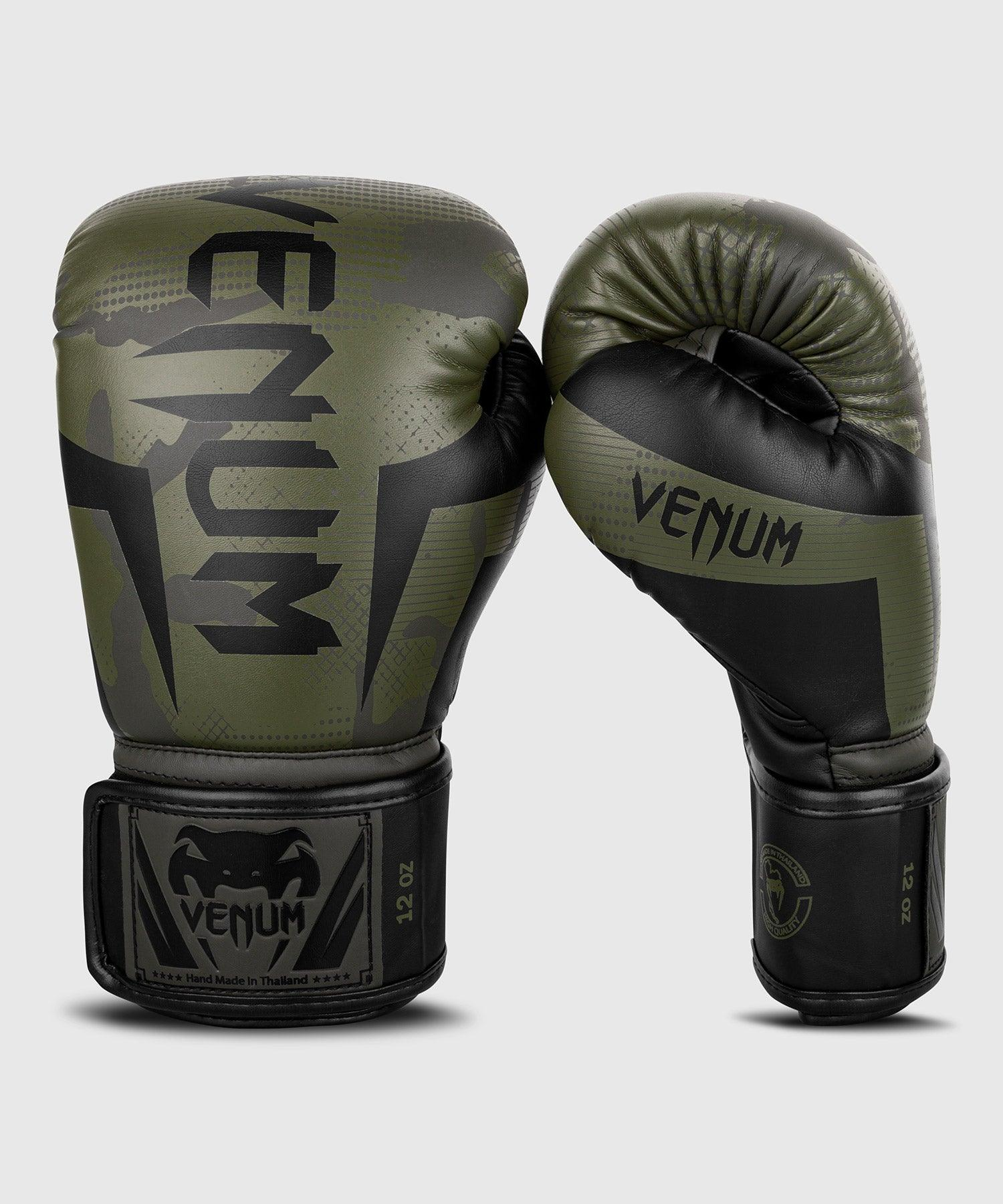 Venum Elite Boxing Gloves - Khaki camo picture 1