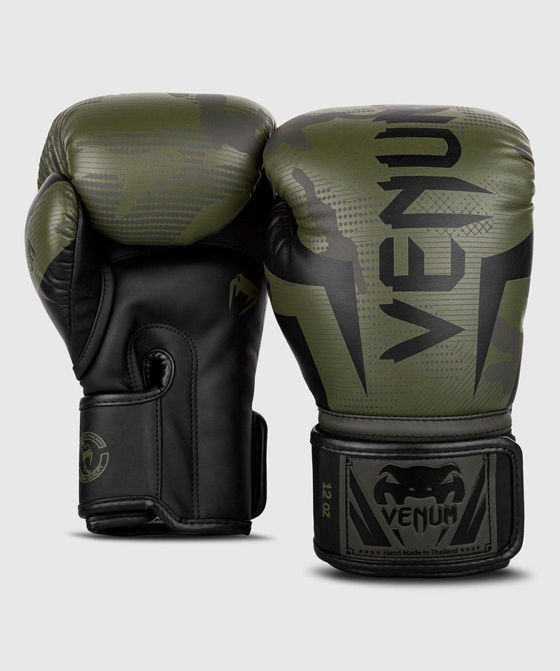 Venum Elite Boxing Gloves - Khaki camo picture 3