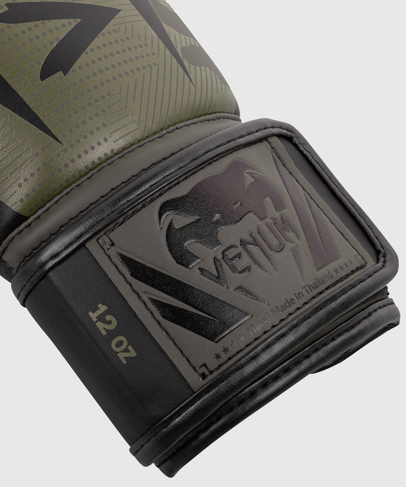 Venum Elite Boxing Gloves - Khaki camo picture 4