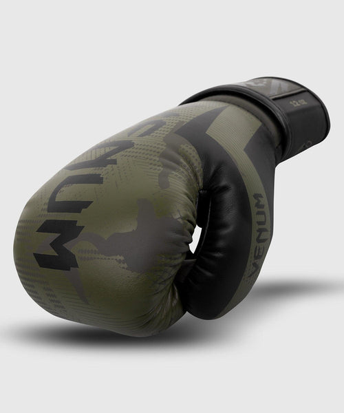 Venum Elite Boxing Gloves - Khaki camo picture 2