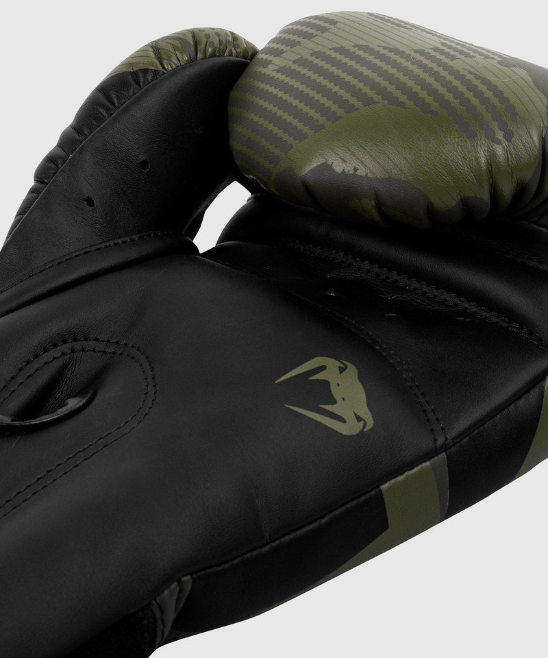 Venum Elite Boxing Gloves - Khaki camo picture 5