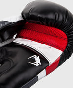 Venum Elite Boxing Gloves - Black/Red/Grey picture 5