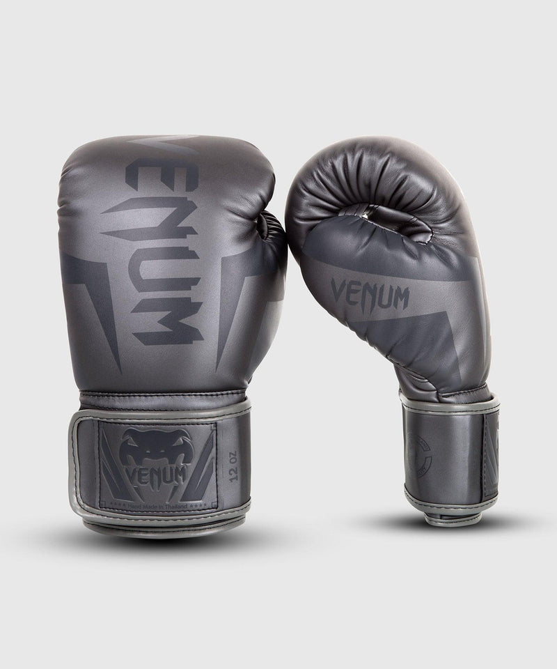 Venum Elite Boxing Gloves – Grey/Grey picture 1