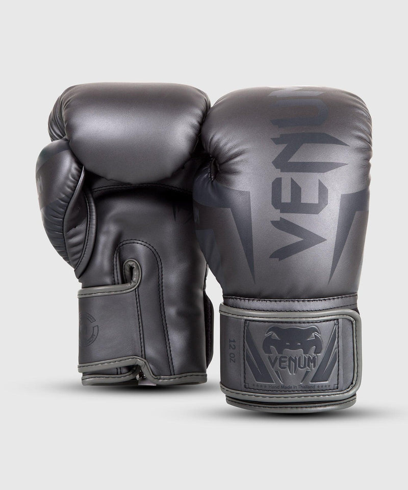 Venum Elite Boxing Gloves – Grey/Grey picture 2