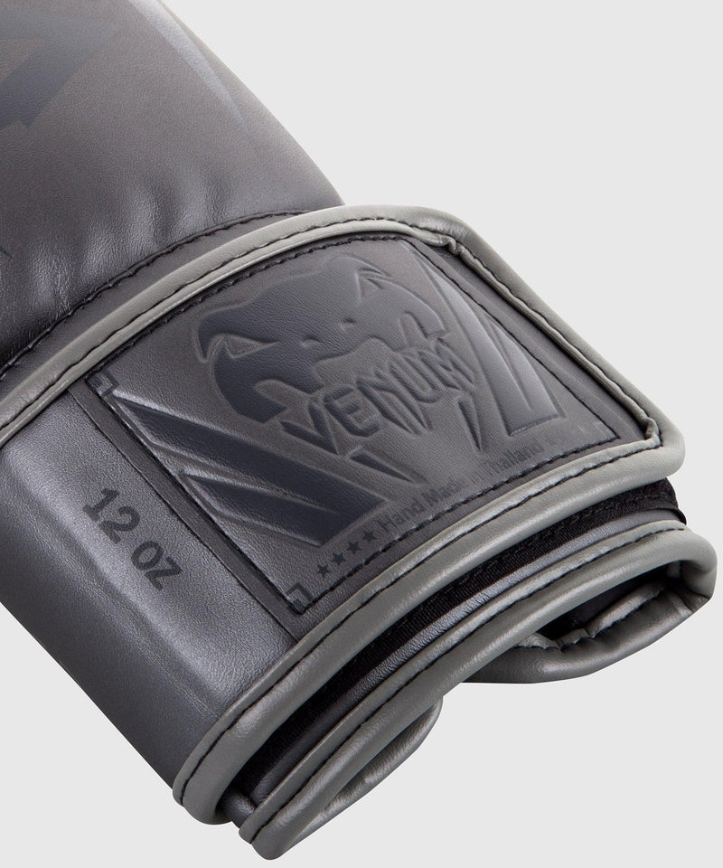 Venum Elite Boxing Gloves – Grey/Grey picture 4