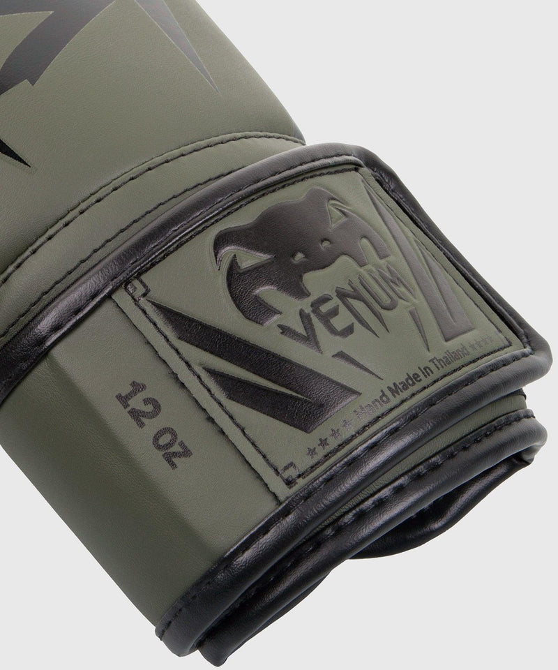 Venum Elite Boxing Gloves – Khaki/Black picture 5