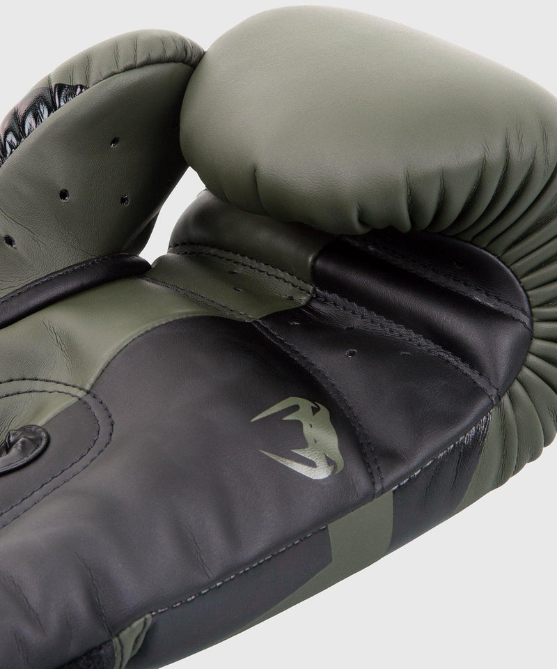 Venum Elite Boxing Gloves – Khaki/Black picture 4