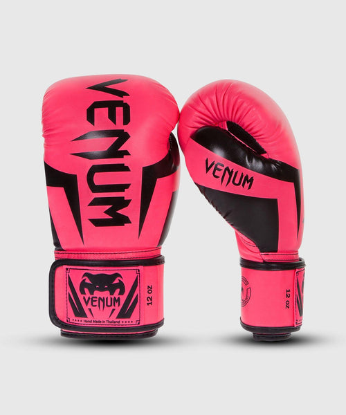 Venum Elite Boxing Gloves - Pink picture 1