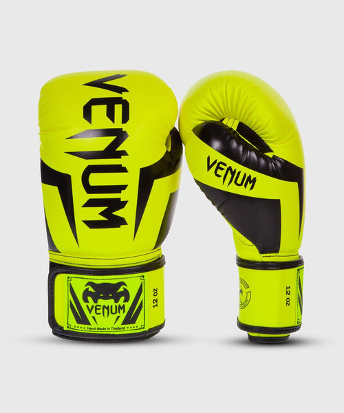 Venum Elite Boxing Gloves - Neo Yellow picture 1