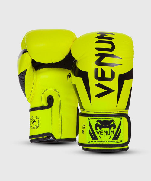 Venum Elite Boxing Gloves - Neo Yellow picture 2
