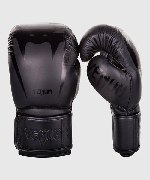 Venum Giant 3.0 Boxing Gloves - Nappa Leather - Black/Black picture 1