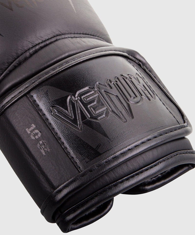 Venum Giant 3.0 Boxing Gloves - Nappa Leather - Black/Black picture 3