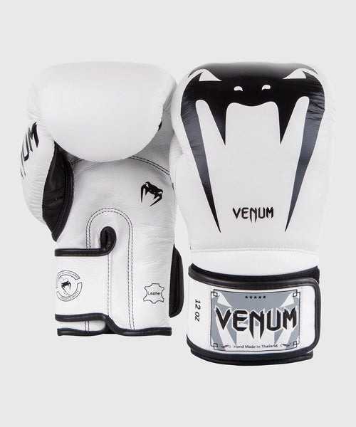 Venum Giant 3.0 Boxing Gloves - Nappa Leather - White picture 2